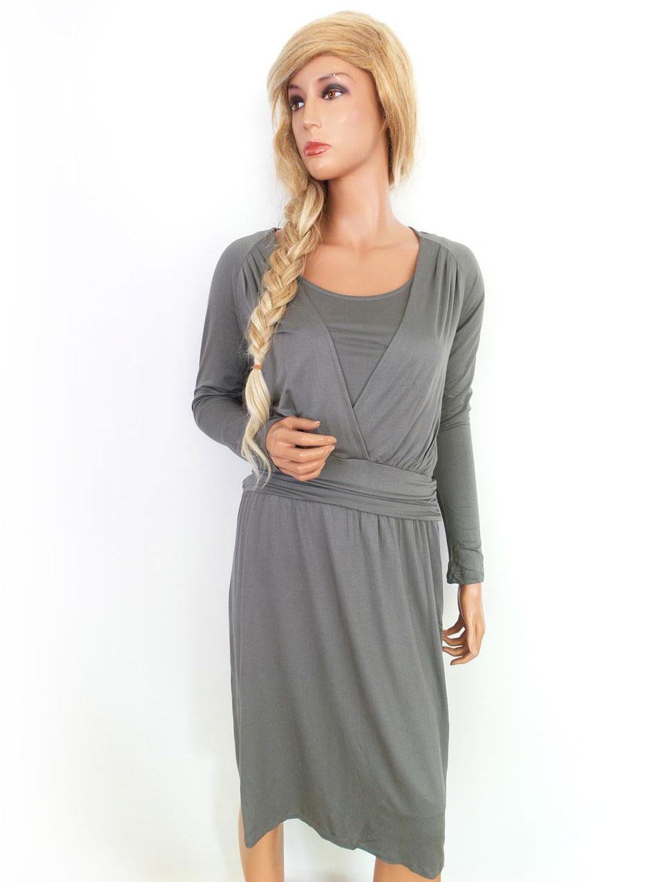... Zara storlek M Ny! klänning grå.    895d75de24817